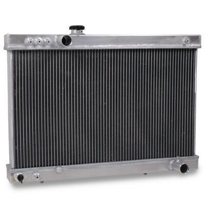 50mm ALLOY RACE RADIATOR RAD FOR TOYOTA SUPRA TURBO MK3 JZA70 1JZ 7MGTE MA70