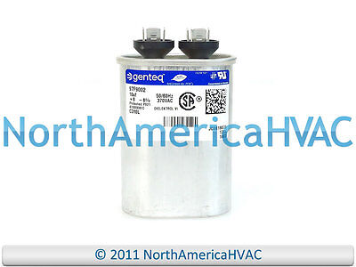 Nordyne Intertherm Replacement Capacitor 70//7.5 uf x 370 VAC Round 621944