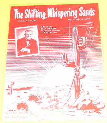 The Shifting Whispering Sands 1950 Billy Vaughn SEE!