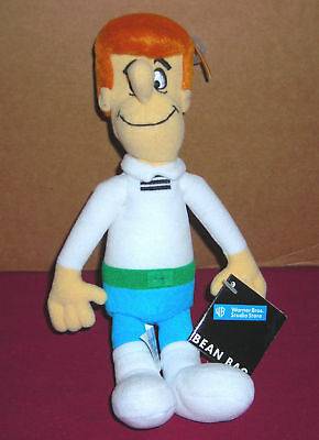 "Warner Brothers Studio Store Hanna Barbera Jetsons George 8"" Plush Bean Bag Toy"