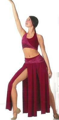 Clearance Contemporary Sheba Lyrical Ballet Dance Costume Child & Adult