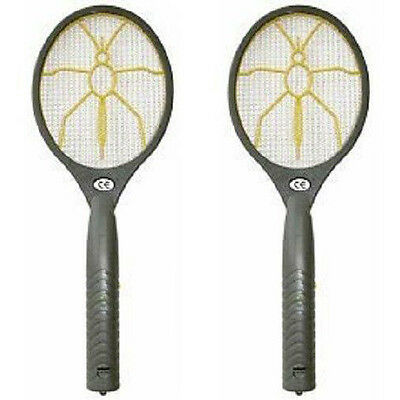 2 Pieces! Electronic Electric Fly Wasp Catcher Swatter Zapper Pest Control