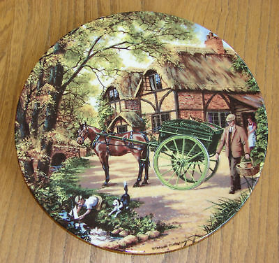 Royal Doulton Bradex Collectors Plate - THE GROCER