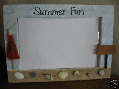 SUMMER FUN - vacation  photo picture frame