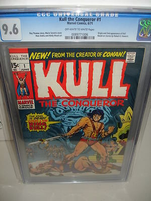Kull the Conqueror #1 CGC 9.6 1971 Marvel 896 Investment cm