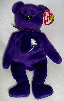 RARE Princess Diana Beanie Baby Collectible 2nd Generation MINT