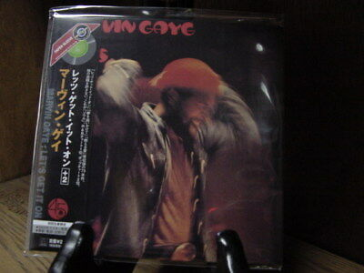 Marvin Gaye Let's Get It On Japan Rare Obi Replica Sealed Cd With 2 Bonus Tracks