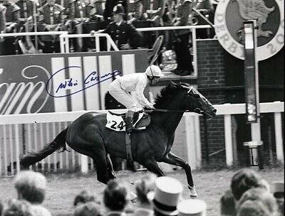 WILLIE CARSON SIGNED TROY 200th EPSOM DERBY PHOTO PROOF