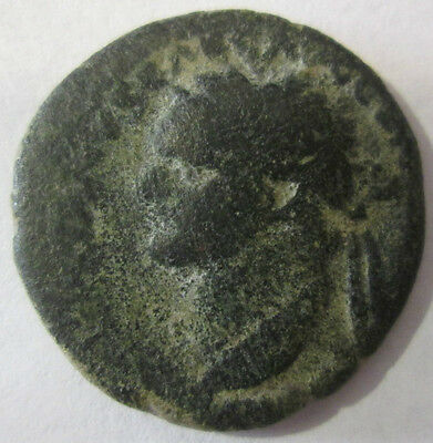 Judea Capta Roman Bronze Coin Archaeology