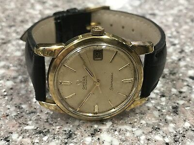 Classic 1969 Gold Capped Omega Seamaster Auto Watch.