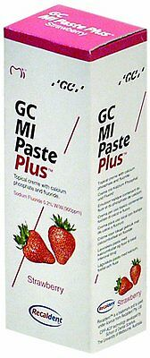 GC MI Paste Plus -Recaldent- Erdbeere 40g