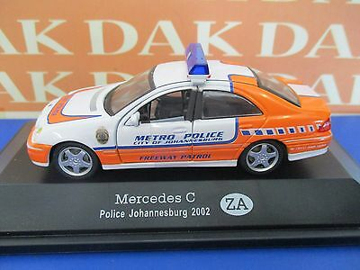 Die cast 1/43 Police Mercedes C 2002 South Africa