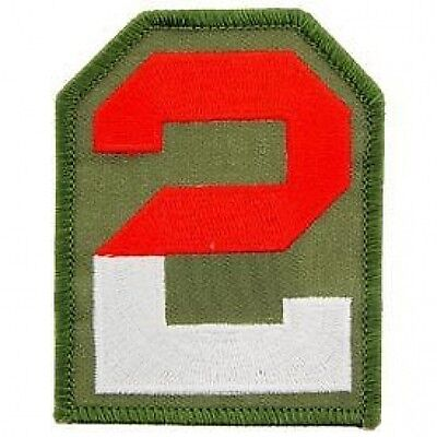 2ND ARMY UNITED STATES ARMY MILITARY PATCH PM0772