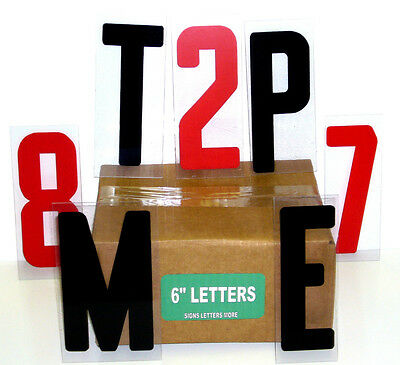 Sign Letters 6 Inch Flex Set 4 Changeable Signs 250 Ct