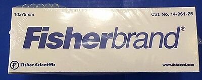 Fisherbrand  Glass Test Tube Tubes 10x75mm 250 / pack 14-961-25