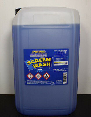 New 25 Litres Concentrated Screen Wash Screenwash Car Washer Fluid