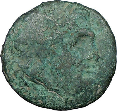 Oiniadai in Akarnania 219BC Authentic Ancient Rare Genuine Greek Coin ZEUS