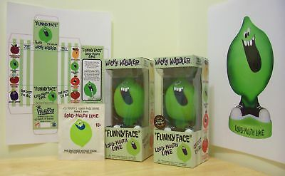 Funko Funny Face LOUD MOUTH LIME WOBBLER COLLECTOR SET