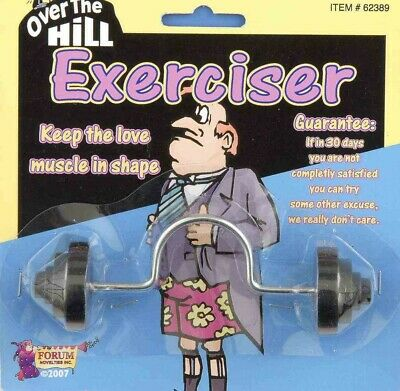 """The Willy Pecker Love Muscle Maker"" Over The Hill Exerciser Adult Gag Joke Gift"