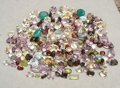 Gem mix semiprecious gems over 200 carats