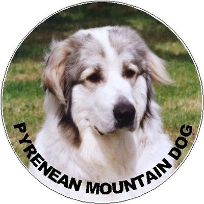 2 Pyrenean Mountain Dog Car Stickers No 2 By Starprint - Auto combined postage