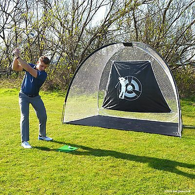 Super Size Golf Driving Practice Net + 24 Golf Balls! *heavy Duty Netting*