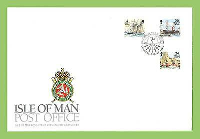 Isle of Man 1996 Ships definitives First Day Cover
