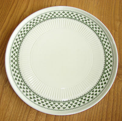 Adams Large Serving Plate or Platter - LINCOLN GREEN