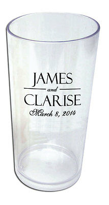 19oz Personalized Custom Wedding Tumbler Party Favors