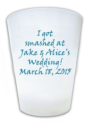 240 Custom Funny Wedding Sayings Favor Shot Glasses