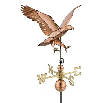 Copper Weathervane Free ship & roof mount Attack EAGLE