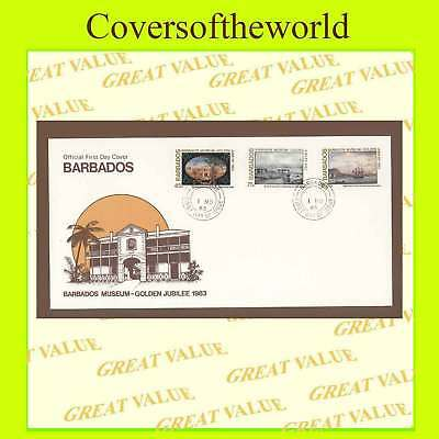 Barbados 1983 Museum  First Day Cover