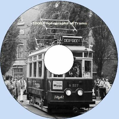 1000 Photographs of Trams of the World Railcoaches CD