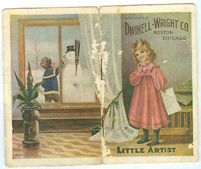 Old White House Coffee Kids Paint Booklet Ad493