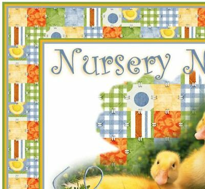 Baby Ducks REBORN auction template Your nursery name