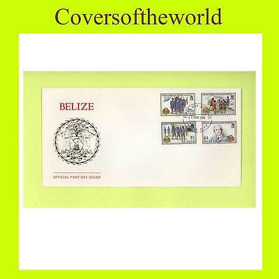 Belize 1987 Girl Guides Jubilee set First Dasy Cover