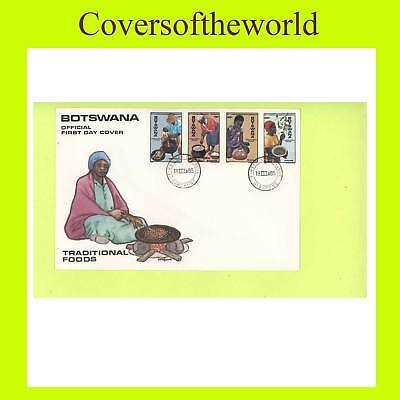 Botswana 1985 Traditional Foods set First Day Cover