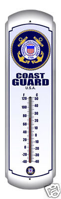 Indoor/Outdoor Thermometer - United States Coast Guard