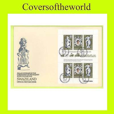 Swaziland 1978 Coronation Sheetlet First Day Cover