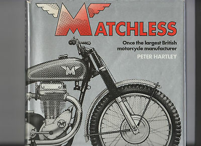 Matchless By Peter Hartley Hardback  1981