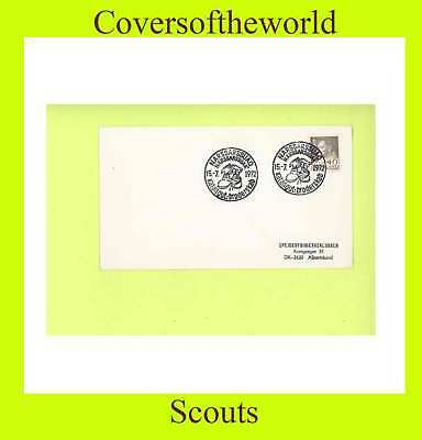 Greenland 1972 Scouts  special cancel cover