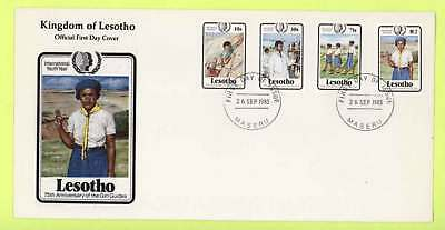 Lesotho 1981 Girl Guides  First Day Cover