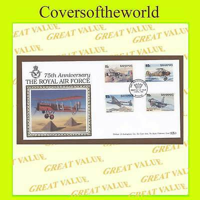 Bahamas 1993 RAF 75th anniv. set  First Day Cover