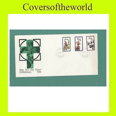 Niue 1974 Christmas set First Day Cover ,un-addressed