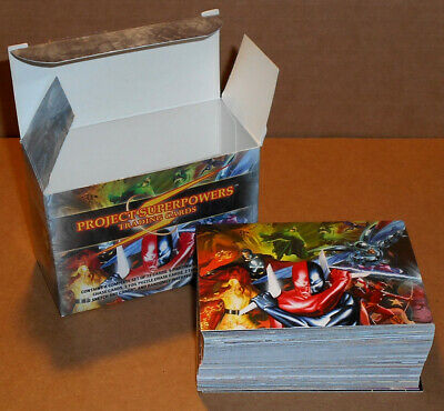Project Superpowers (Breygent) ~ COMPLETE 72 CARD BASE SET