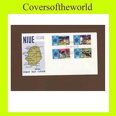 Niue 1972 Commission anniv. First Day Cover