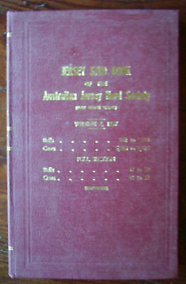 Aust: JERSEY STUD BOOK, NSW 1967 rare cattle farming agriculture