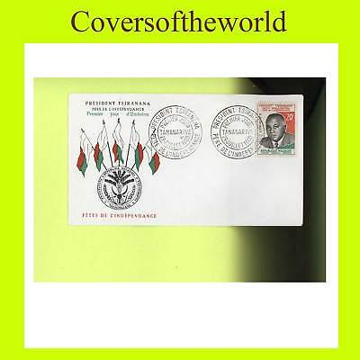 Madagascar 1960 Independence  First Day Cover