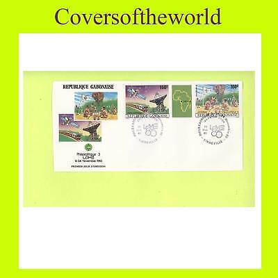 Gabon 1985 Scouts/Philexfrance First Day Cover