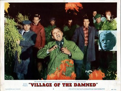 VILLAGE OF THE DAMNED 11x14 MARTIN STEPHENS original 1960 MGM lobby card poster